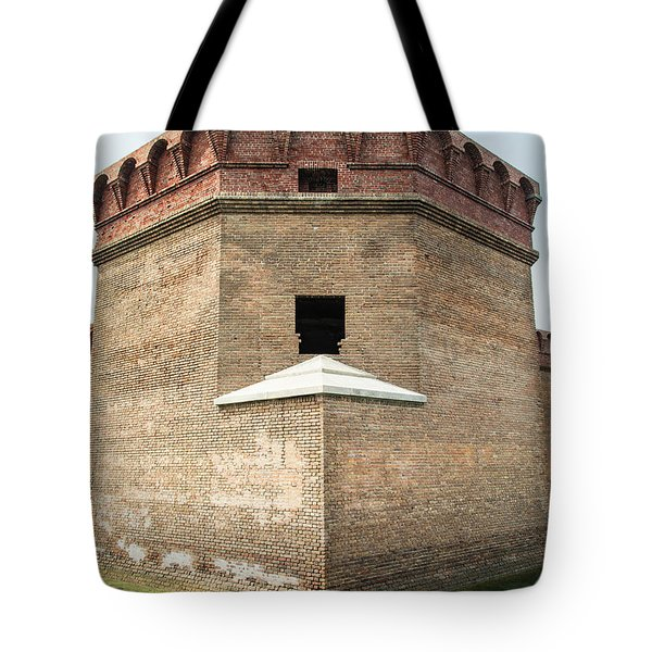 Bastion At Ft Jefferson Tote Bag