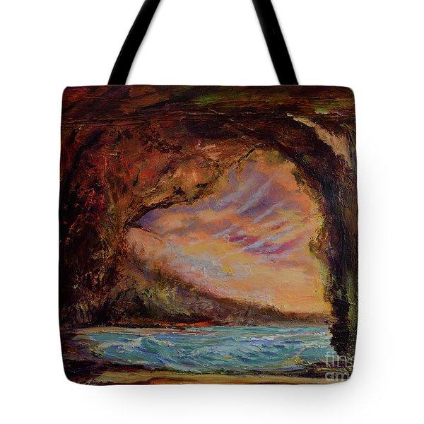Bat Cave St. Philip Barbados  Tote Bag