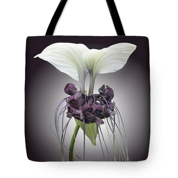 Bat Plant Tote Bag