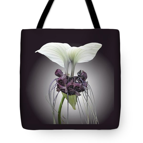 Bat Plant Tote Bag