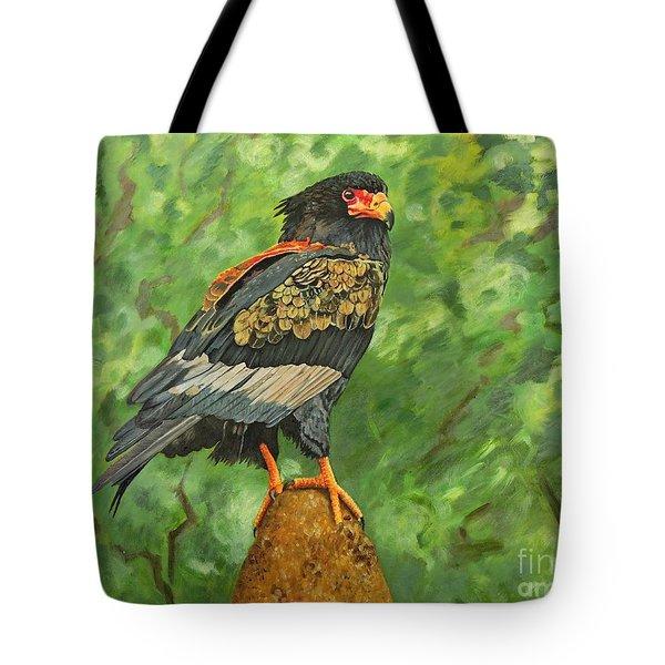Bataleur Eagle Tote Bag by Caroline Street