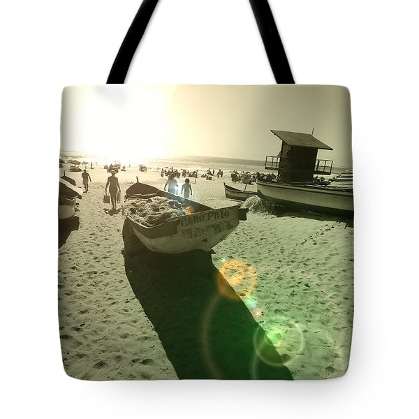Tote Bag featuring the photograph Batboat by Beto Machado