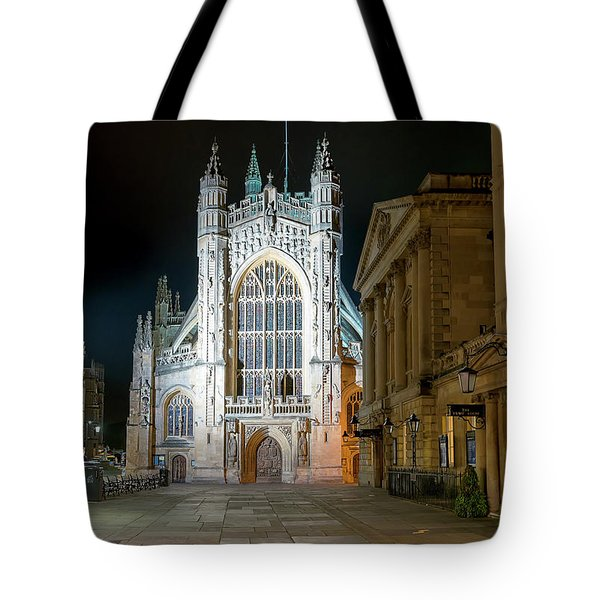 Bath Abbey Tote Bag