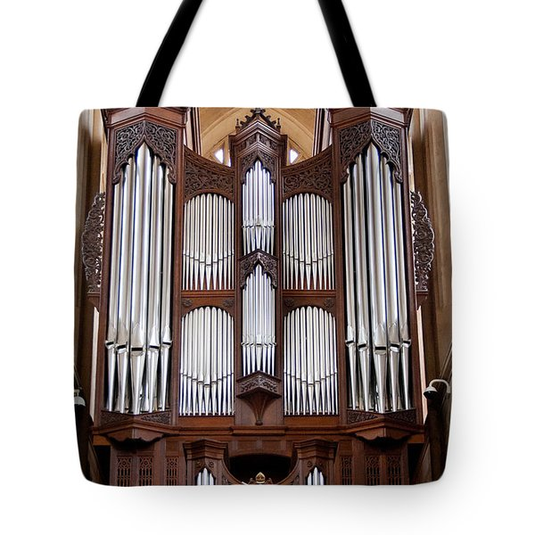 Bath Abbey Organ Tote Bag