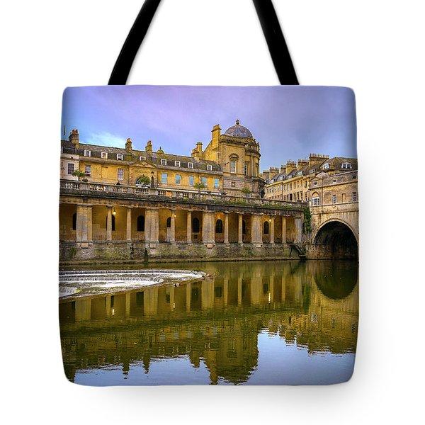 Bath Market Tote Bag