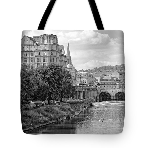 Bath On Avon By Mike Hope Tote Bag