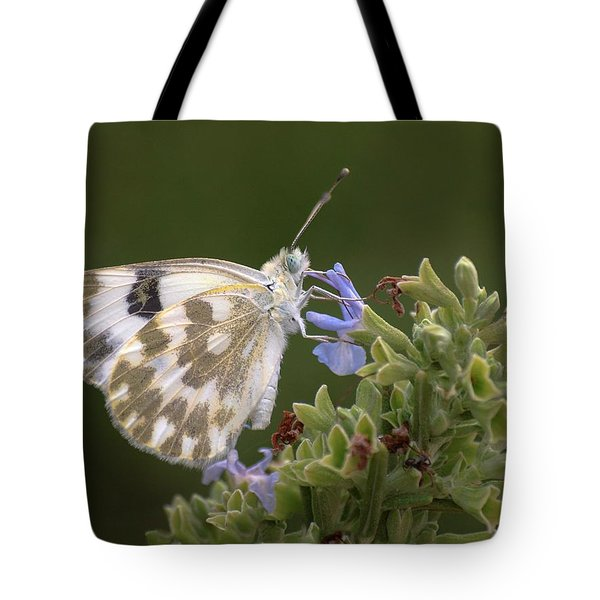 Bath White Tote Bag