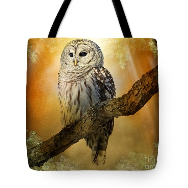 Bathed In Light  Tote Bag
