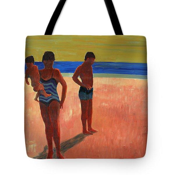 Bathers 88 Tote Bag