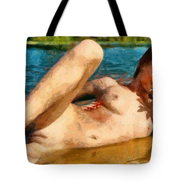 Bathgirl - Da Tote Bag