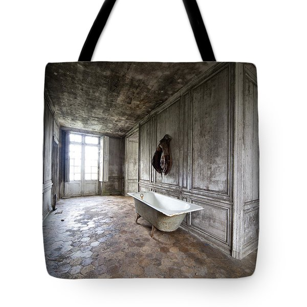 Bathroom Decay - Urban Exploration Tote Bag
