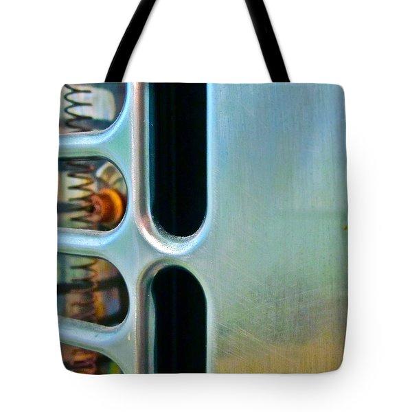 Bathroom Heat Tote Bag by Gwyn Newcombe