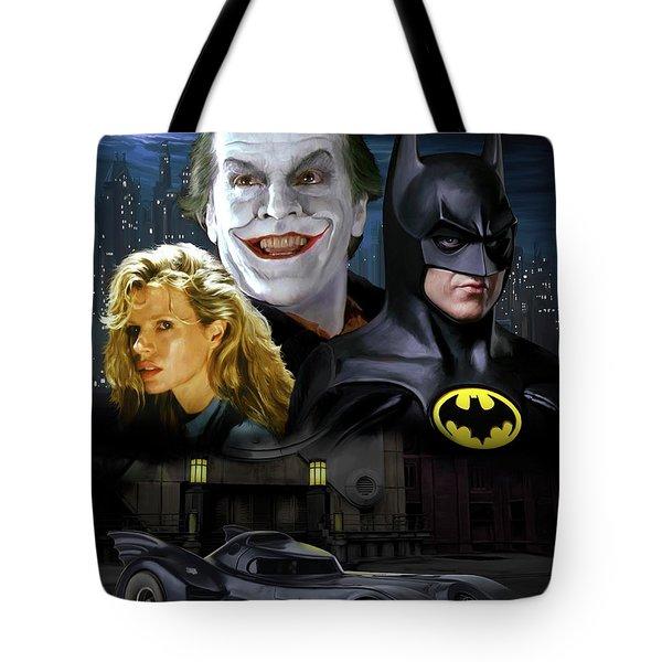Batman 1989 Tote Bag