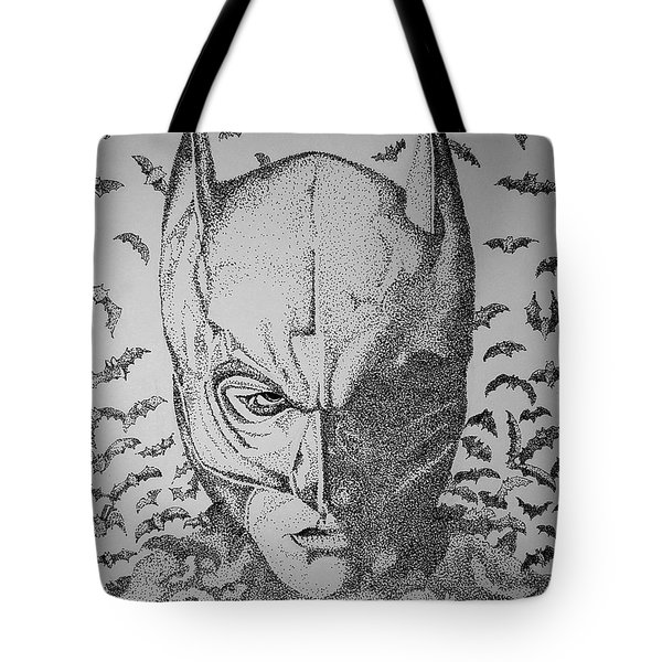 Batman Flight Tote Bag