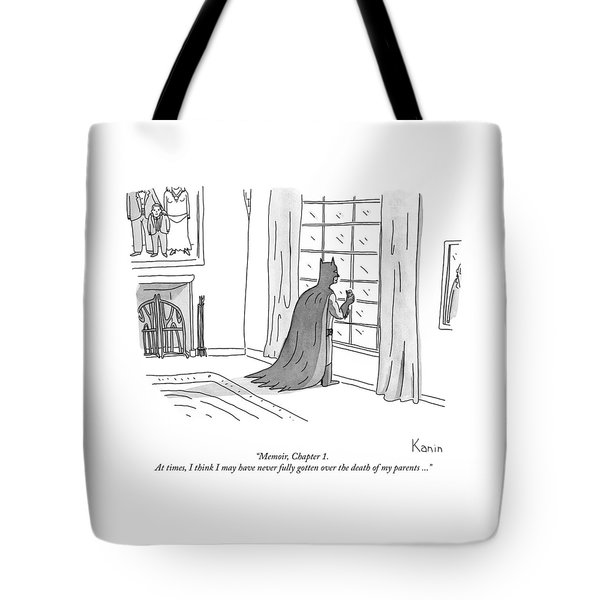 Batman Memoir Chapter 1 Tote Bag