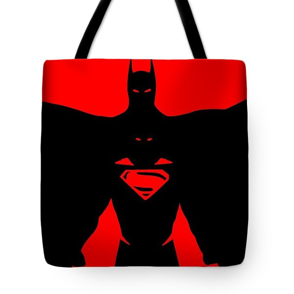 Batman/superman Tote Bag