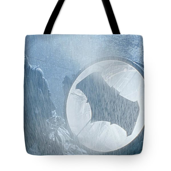 Batman V Superman Dawn Of Justice Tote Bag