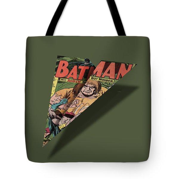 ed55f1548408 Caped Superhero Page 1 Comic Book Paper Airplane Tote Bag
