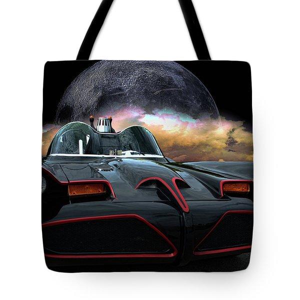 Batmobile Tote Bag