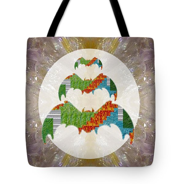 Bats Bird Ecolocater Flier Graphic Abstract Option To Download For Personal N Commercial Link Below Tote Bag