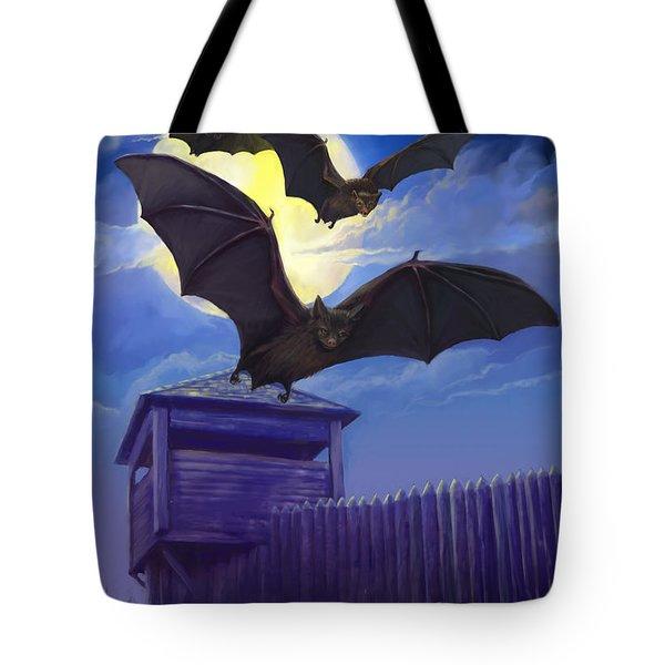 Batsfly Tote Bag