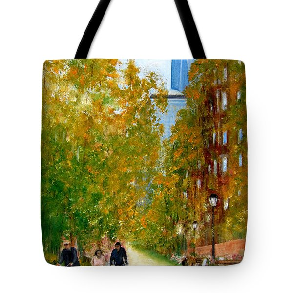 Battery Park City Ny Tote Bag