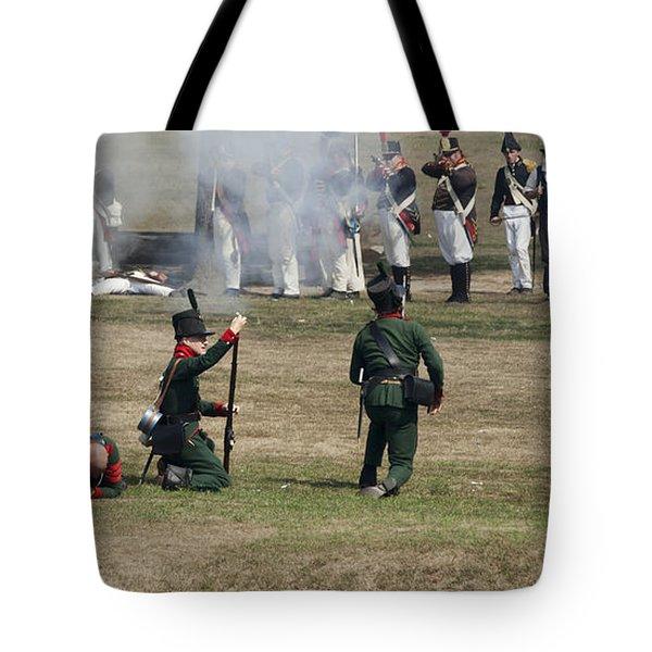 Battle 1 Tote Bag