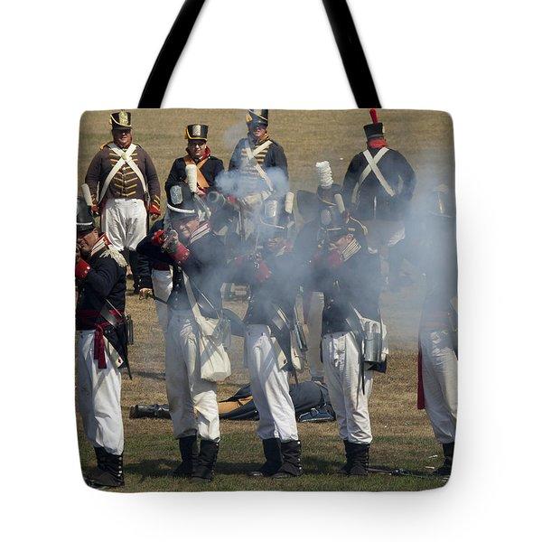 Battle 6 Tote Bag