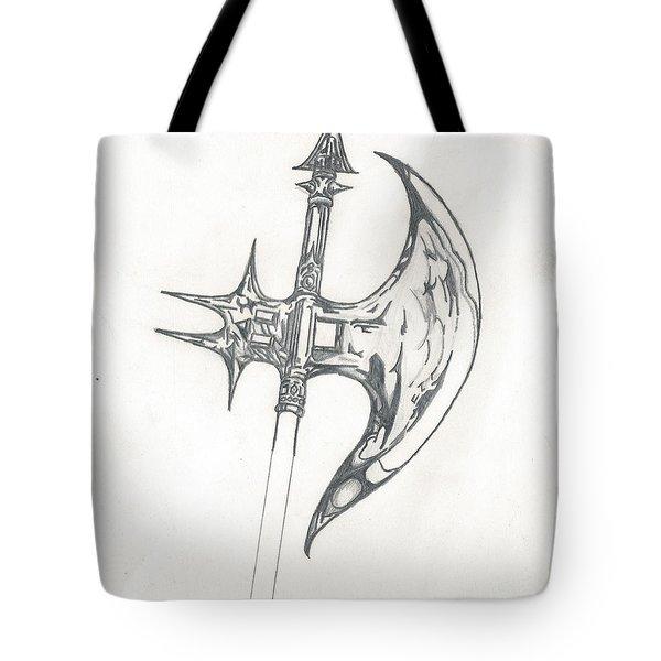 Battle Axe Tote Bag