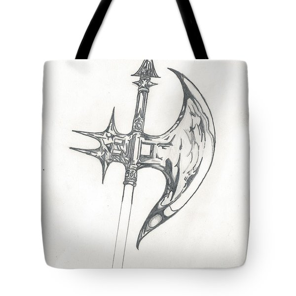 Battle Axe Tote Bag