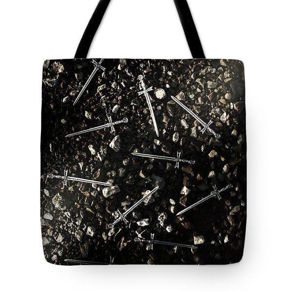 Battle Blades Tote Bag