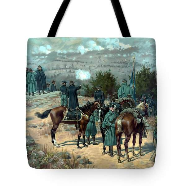 Battle Of Chattanooga Tote Bag by War Is Hell Store