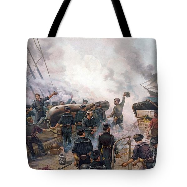 Battle Of Cherbourg Tote Bag