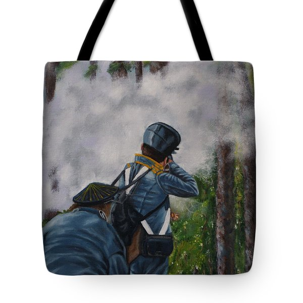 Battle Of Fort Dade Tote Bag