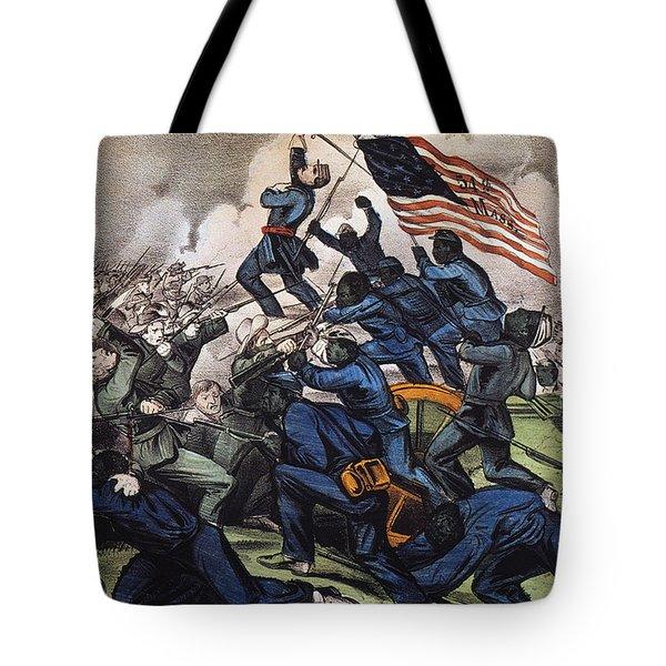 Battle Of Fort Wagner, 1863 Tote Bag