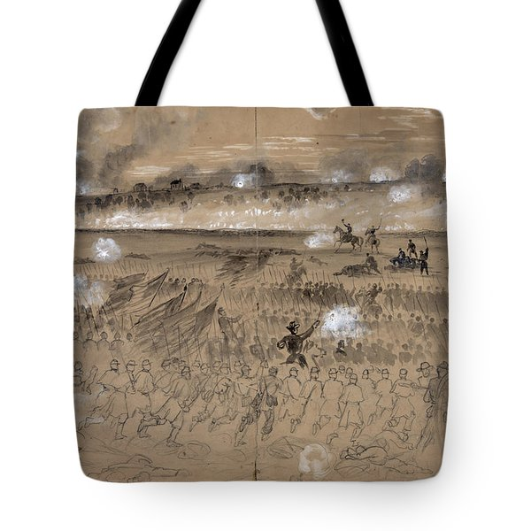 Battle Of Fredericksburg Tote Bag by Granger