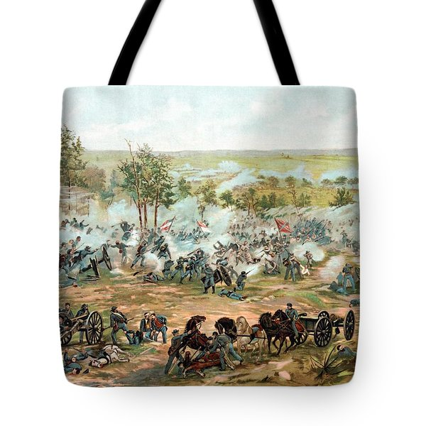 Battle Of Gettysburg Tote Bag by War Is Hell Store