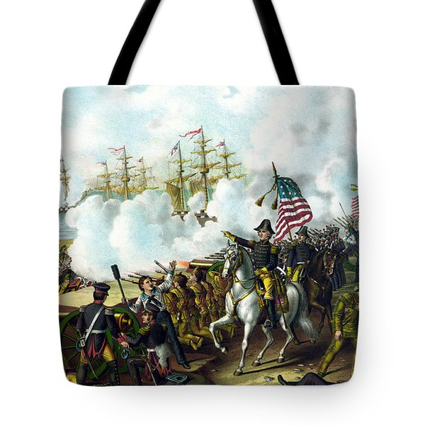 Battle Of New Orleans Tote Bag by War Is Hell Store