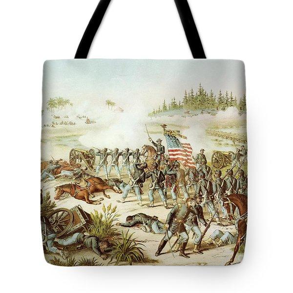 Battle Of Olustee Tote Bag by American School