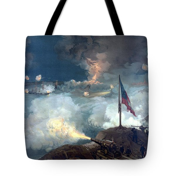 Battle Of Port Hudson Tote Bag by War Is Hell Store