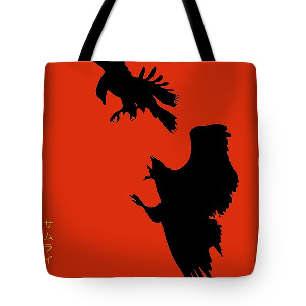 Battle Of The Eagles Tote Bag