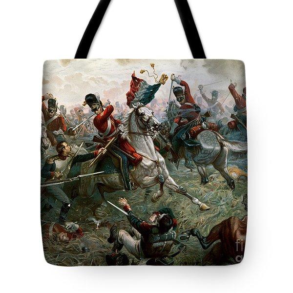 Battle Of Waterloo Tote Bag