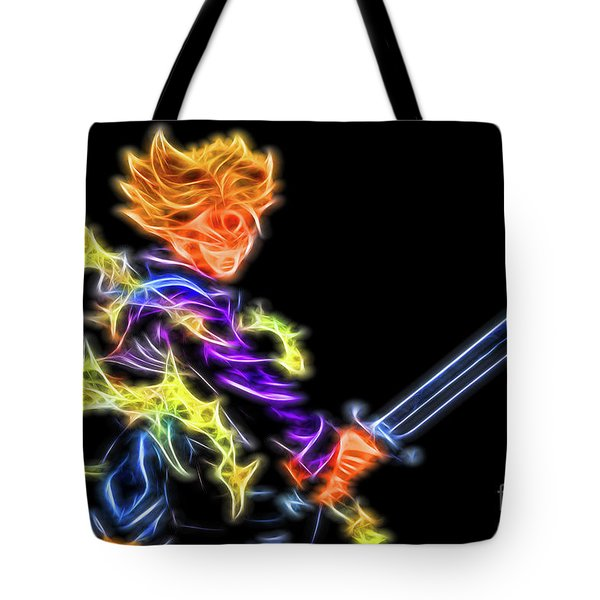 Battle Stance Trunks Tote Bag