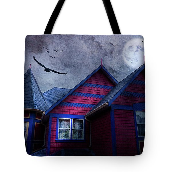 Tote Bag featuring the photograph Battle Street West by Theresa Tahara