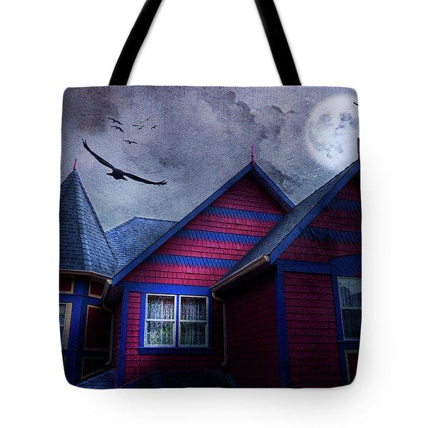 Battle Street West Tote Bag by Theresa Tahara