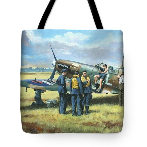 'battle Tactics' Tote Bag