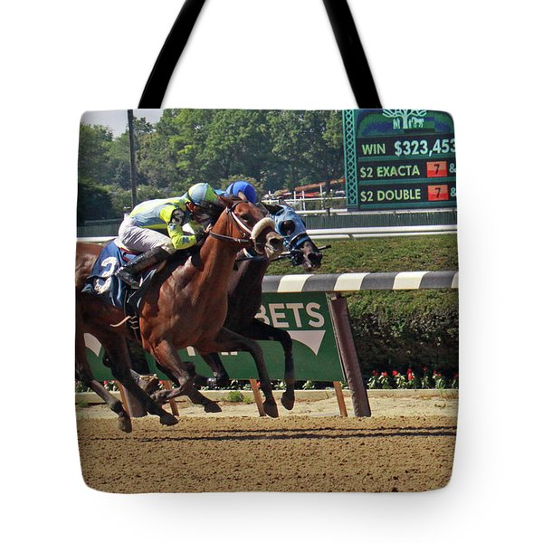 Battle To The Finish Tote Bag