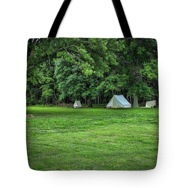 Battlefield Camp 2 Tote Bag