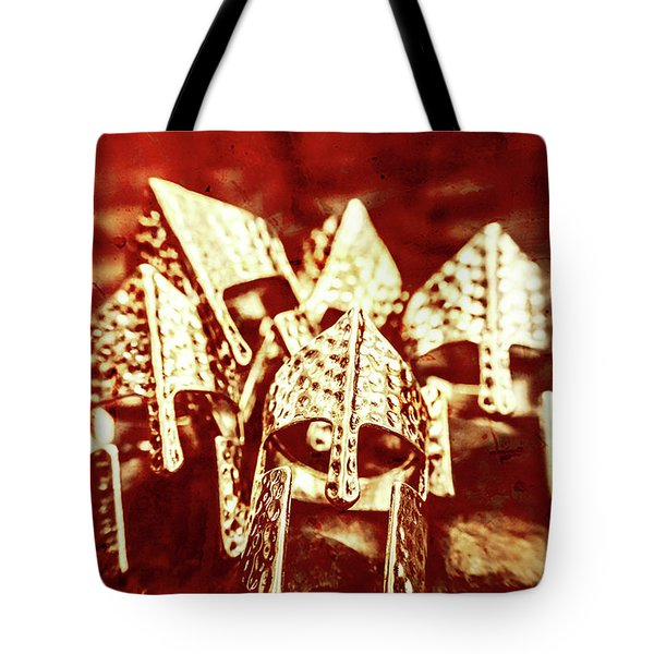 Battlefield Of Lost Empires Tote Bag