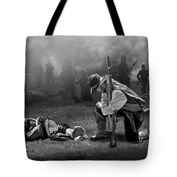 Battlefield Tote Bag